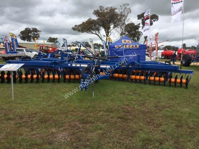 Grizzly FW80 Offset Discs Tillage Equip