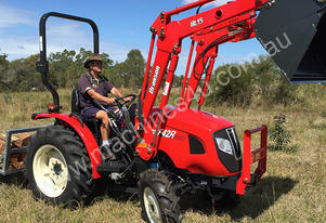 Branson F42R – 40HP Tractor with 4 in 1 FEL