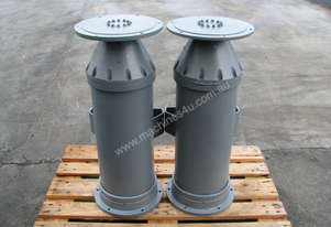 Pair of Industrial Pneumatic Air Rams