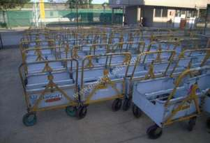 mobile trailer buggies tow forklift material