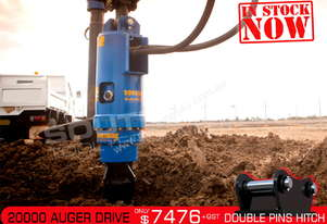 20000 MAX Auger Drive Unit. Suit 13 - 20T Excavators ATTAGT