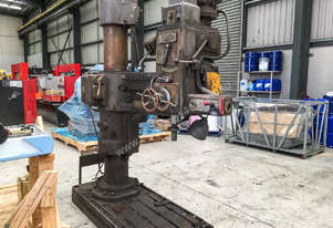 Asquith Radial Arm Drill. 900mm arm travel, 4MT, Made in England.