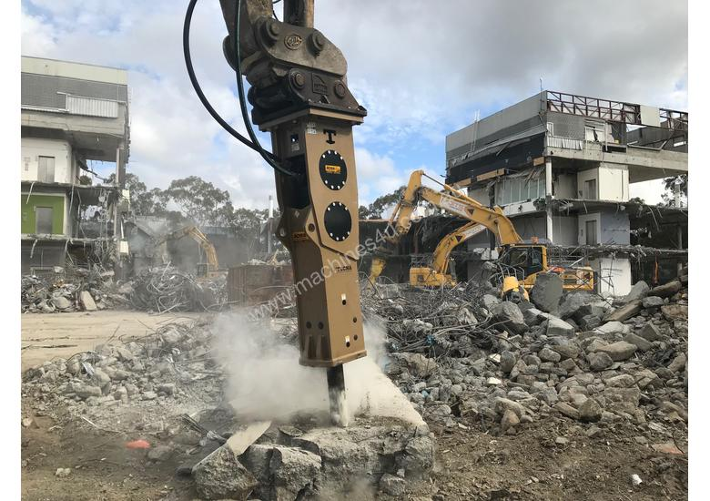 TECNA T400 HYDRAULIC BREAKERS - Exclusive to Boss Attachments