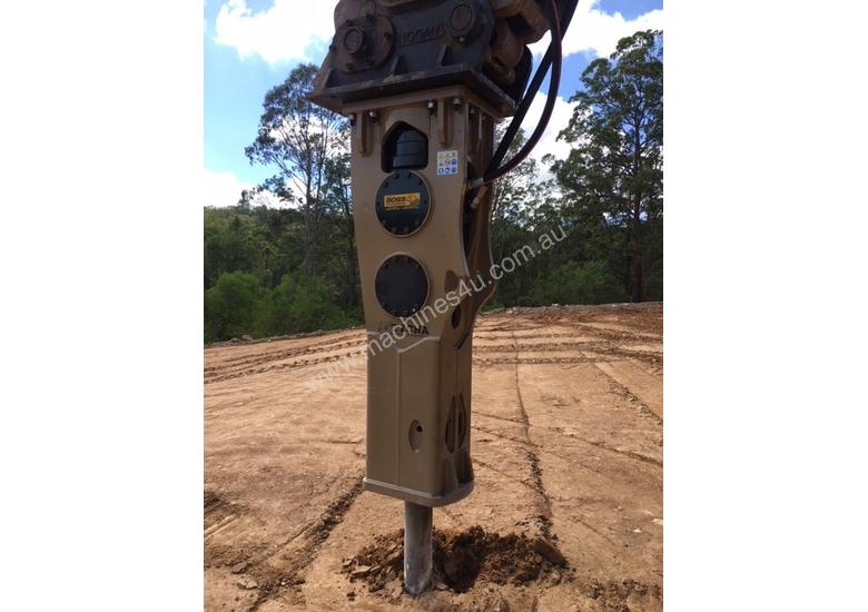 TECNA T400 HYDRAULIC BREAKERS RENT-TRY-BUY TODAY! Exclusive to Boss Attachments