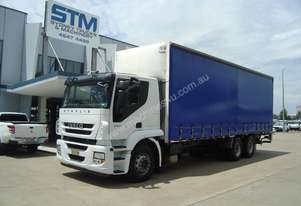 Iveco Stralis ATi 360 Curtainsider Truck