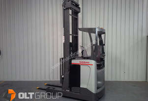 Nissan UMS Electric Reach Truck 7950mm Lift Height Excellent Condition