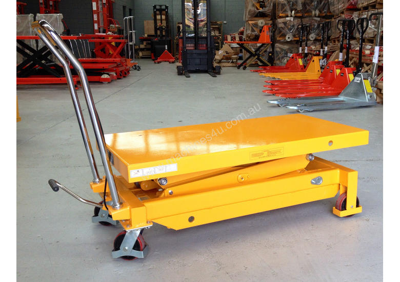 700kg double scissor lift table/trolley