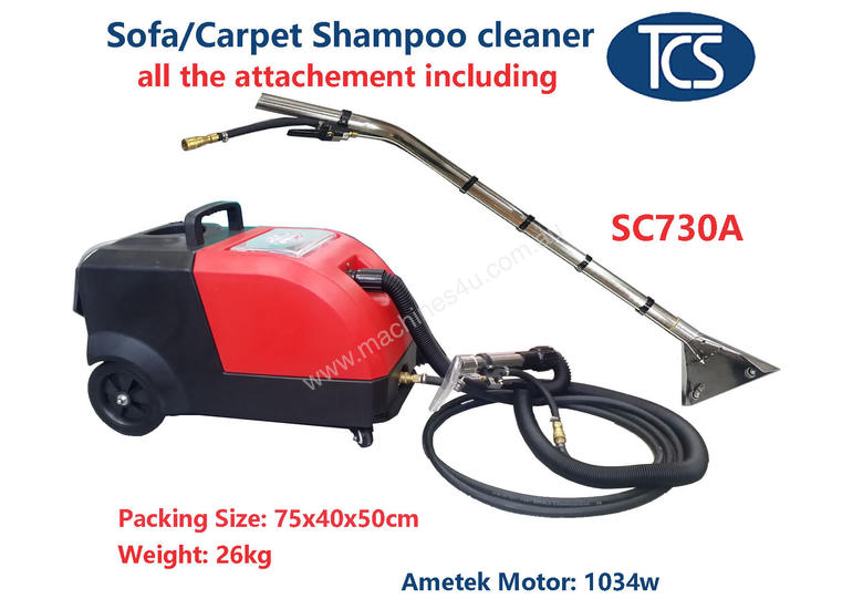 New 2017 Tcs Tcs New Upholstery Carpet Cleaner Shampoo Machine Car Detailing Wet Shampooer