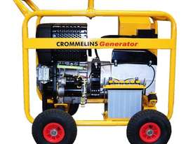 Crommelins 8kVA Generator Worksite Approved - picture2' - Click to enlarge