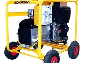 Crommelins 8kVA Generator Worksite Approved - picture4' - Click to enlarge