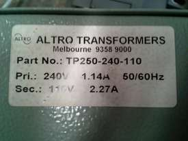 Altro Electrical Transformer  - picture3' - Click to enlarge