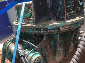 Excavator Rotating Clam Grab 360 Degree Turn - picture1' - Click to enlarge