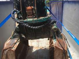 Excavator Rotating Clam Grab 360 Degree Turn - picture0' - Click to enlarge