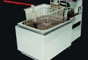 Woodson Deep Fryer Auto lift Single Basket - W.FAS