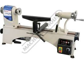 WL-14V Mini Wood Lathe 356mm Swing x 470mm Between Centres Electronic Variable Spindle Speed with Di - picture0' - Click to enlarge