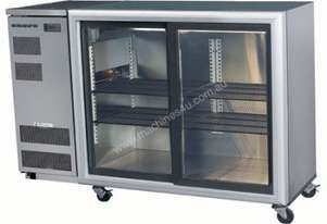 Skope BB380 2SL BackBar Series Two Sliding Doors Bench Fridge - 1500mm