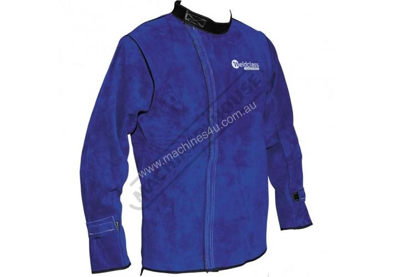 WC-01783 Professional Promax BL7 Welding Jacket Size: XL - Extra Large Premium A-Grade Cowhide Leath