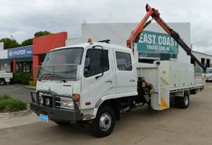 2007 MITSUBISHI FUSO FIGHTER  Service Vehicle Dual Cab Crane Truck
