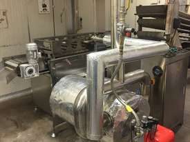 Continuous Deep Fryer (Curtain Fryer) For Industrial Manufacturing - picture2' - Click to enlarge