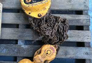 Chain Hoist Block and Tackle 5.0 ton x 3 mtr Drop PWB Anchor Lifting Crane PWB Anchor