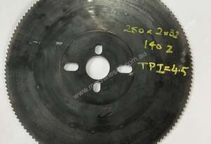 Cold Saw Blade HSS 250Ø x 2 x 32mm Bore 140T