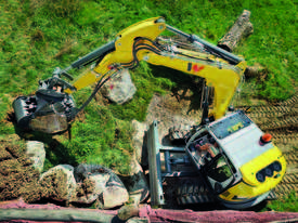 EZ80 Zero Tail Excavator - picture2' - Click to enlarge