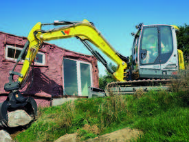 EZ80 Zero Tail Excavator - picture0' - Click to enlarge