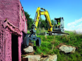 EZ80 Zero Tail Excavator - picture5' - Click to enlarge