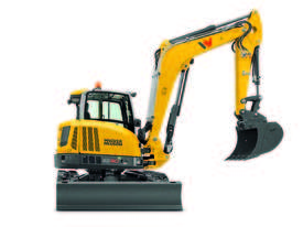 EZ80 Zero Tail Excavator - picture12' - Click to enlarge
