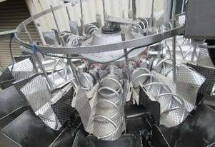 Screwfeed Multihead (14) Weigher with Conveyor