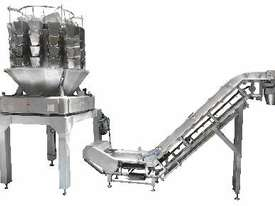 Screwfeed Multihead (14) Weigher with Conveyor - picture2' - Click to enlarge