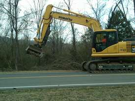 DML/HY Mulcher with fixed teeth rotor for excavators - picture0' - Click to enlarge