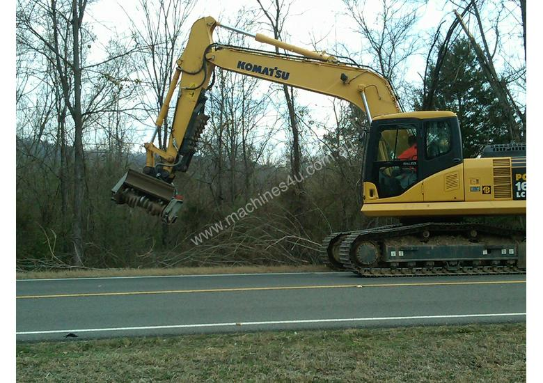 DML/HY Mulcher with fixed teeth rotor for excavators