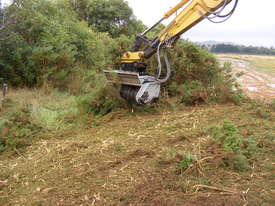 DML/HY Mulcher with fixed teeth rotor for excavators - picture5' - Click to enlarge