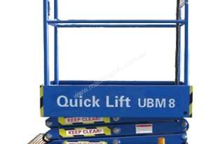 8ft Self Propelled Mini Scissor Lift