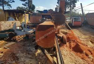 Woodmizer LT70 sawmill operation