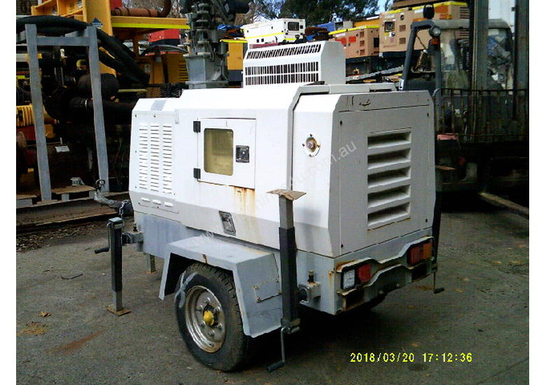 12kva 240 volt new genset in trailers 3cyl perkins / stanford generator silenced , only 1 left