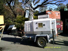 12kva 240 volt new genset in trailers 3cyl perkins / stanford generator silenced , only 2 left - picture1' - Click to enlarge