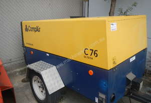TRAILER MOUNTED AIR COMPRESSOR – COMPAIR