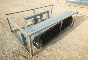 Unused 1800mm Hydraulic Sweeper to suit Skidsteer Loader - 10419-31