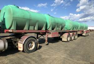 O'Phee B/D Combination Tanker Trailer