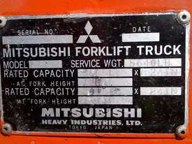 Mitsubishi 1.8T Used LPG Forklift FG18 - picture6' - Click to enlarge