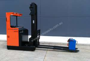BT 2008 Business Class Moving Mast Reach Forklift with Kooi Reach Forks. Sydney.