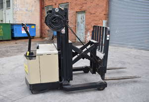 Crown 1.5T Walkie Reach Stacker Forklift for HIRE from $180pw + GST