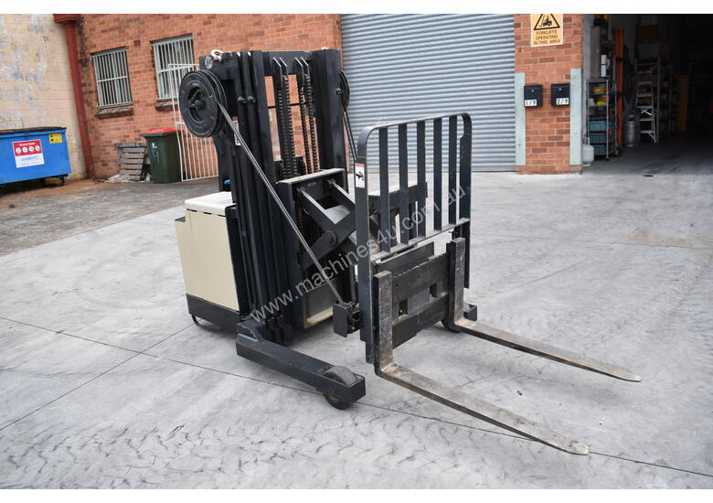 Crown 1.5T Walkie Reach forklift for HIRE from $180pw + GST