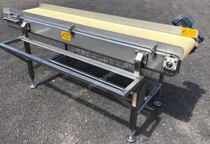 CONTECH ENGINEERING SS Flat Belt Conveyor