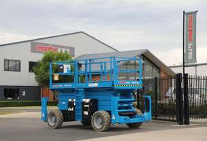 Genie GS4390RT - 43' Wide Twin-Deck 4WD Diesel Scissor Lift