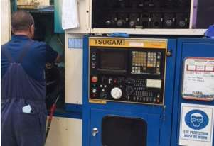 used Tsugami horizontal machining centre