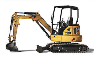 CATERPILLAR 303E CR MINI HYDRAULIC EXCAVATOR + THUMB UPGRADE OFFER to Dec 31