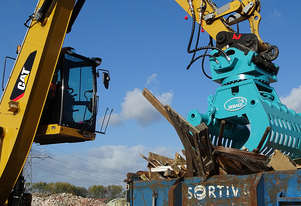 Dehaco hydraulic demolition and sorting grabs